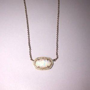 Kendra Scott Eloise Opal Rose Gold Necklace